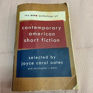Contemporary American short fiction book